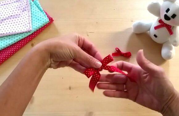 Come fare un fiocco semplice